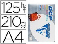 Papel Blanco DCP A4 125 Hojas 210 Grs